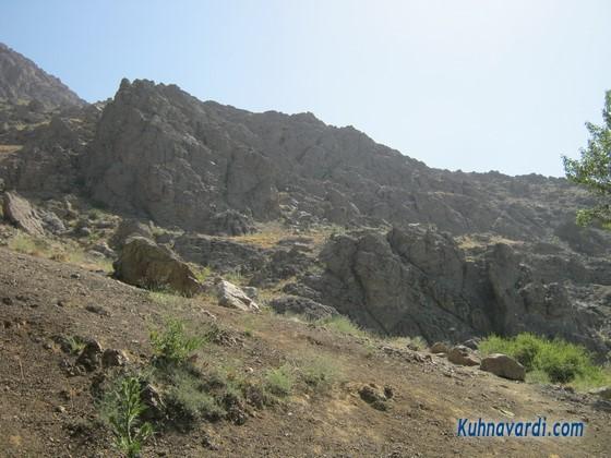 مسیر کوهنوردی گلابدره