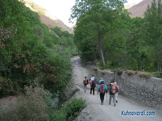 مسیر آهار به ده تنگه