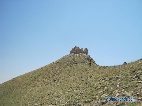 نزدیک قله