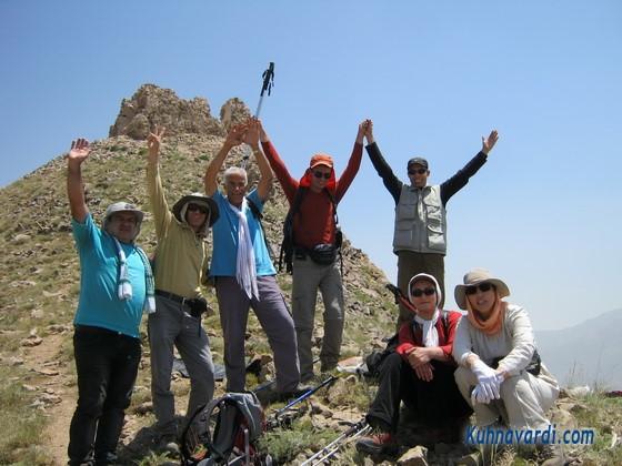 گروه همه ما - روی قله