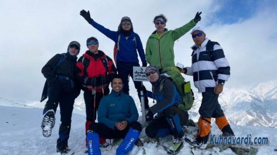 قله استرچال- گروه نشاط زندگی - آذرماه 1399