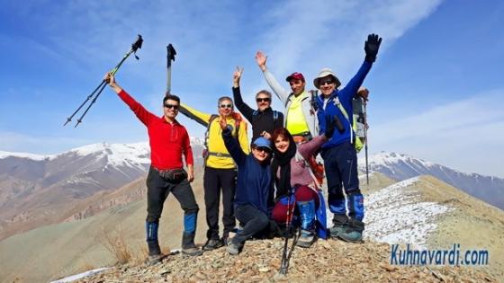 گروه نشاط زندگی - قله چشمه نار - 98.08.23
