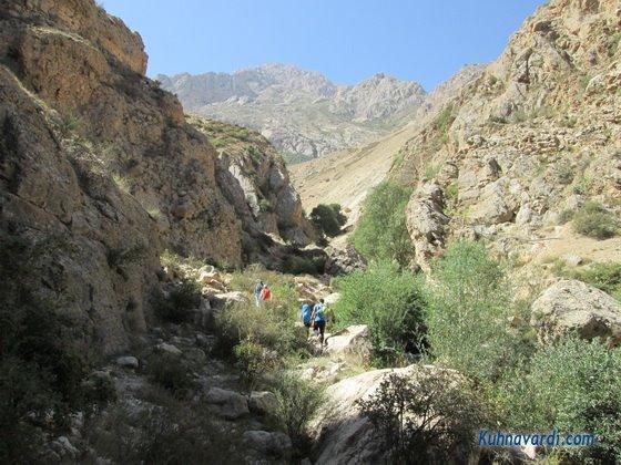 مسیر غار الیاس