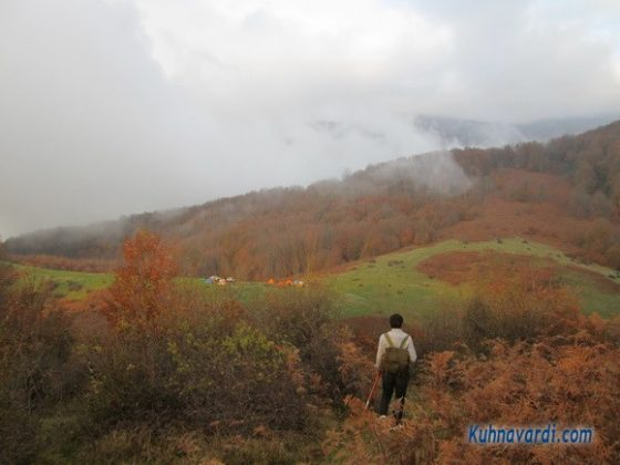 قله درفک از شیرکوه