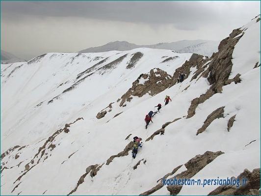 مسیر قله آهنگرک