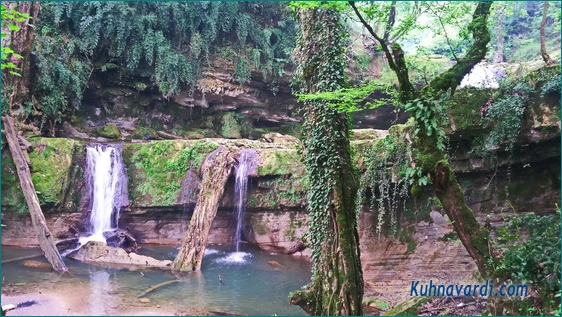 سوادکوه، لفور، هفت آبشار