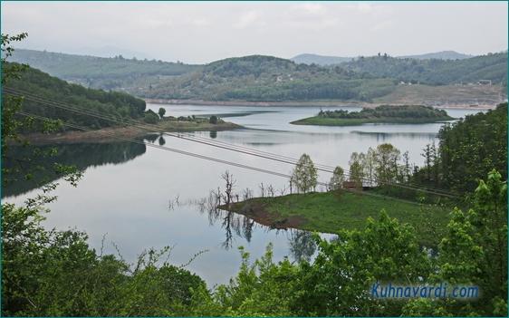 سوادکوه، دریاچه سد لفور