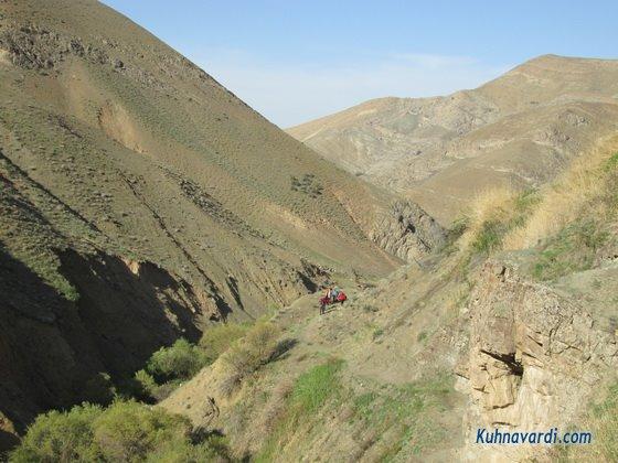 دره انجیرداران - مسیر قله مرد نوراز