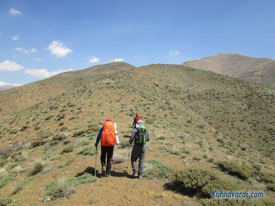 مسیر قله مرد نوراز