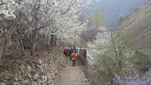 روستای رندان - مسیر آبشار