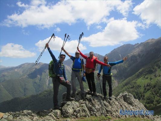 مسیر قله آسمان کوه