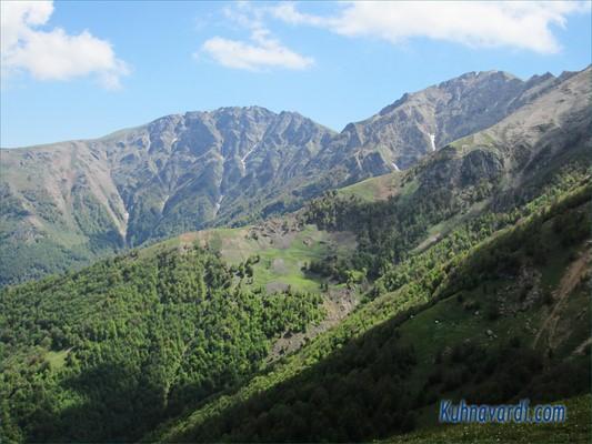 قله های نزدیک آسمان کوه