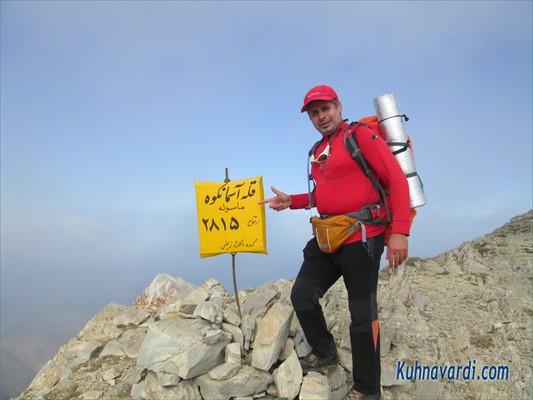 قله آسمان کوه - حسین شهبازی