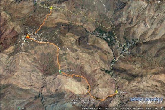 مسیر قله سی چال از هملون