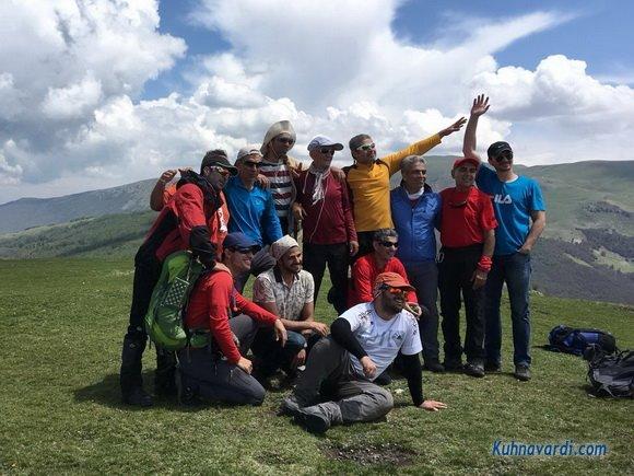 گروه نشاط زندگی - قله آسمان سرا - اردیبهشت 97