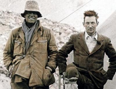 جورج مالوری و اروین اندرو