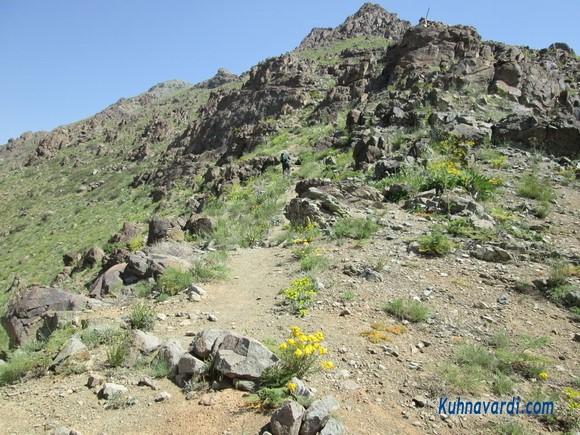 مسیر قله دوشاخ