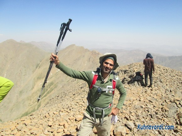 مسیر قله دوبرار