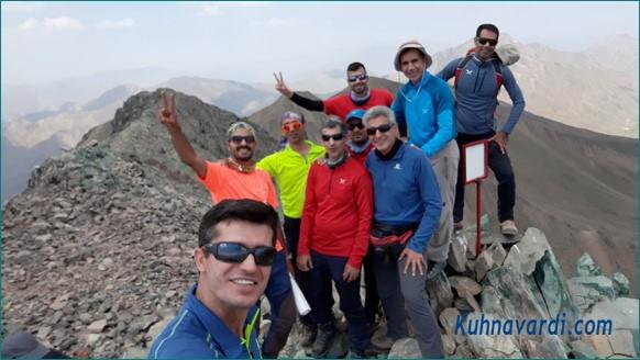 گروه نشاط زندگی - قله سرکچال 3