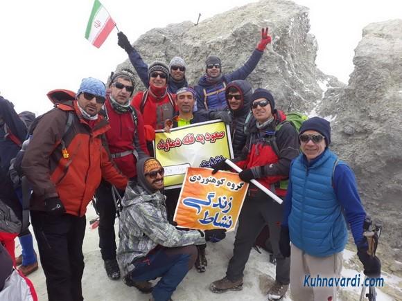قله دماوند - جبهه غربی