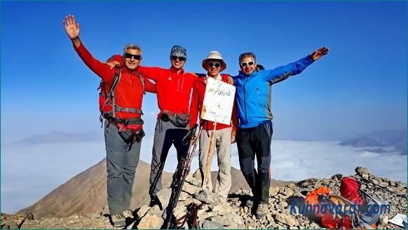 گروه نشاط زندگی - قله زرین کوه طالقان