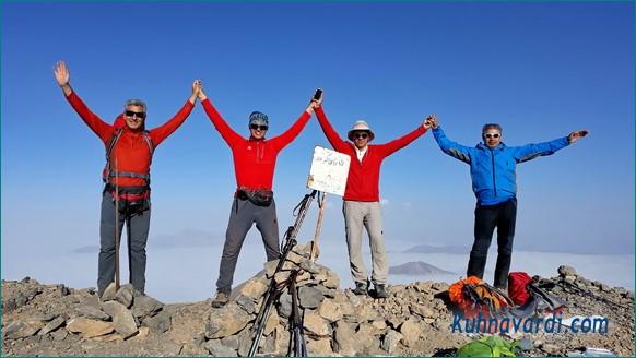 قله زرین کوه طالقان