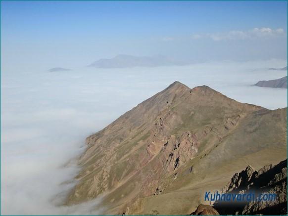 مناظر قله زرین کوه طالقان