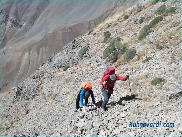 مسیر قله زرین کوه
