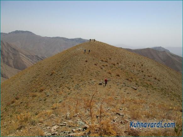 در مسیر قله ولرده چال