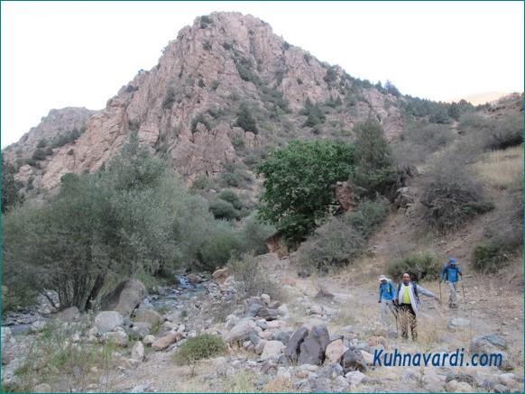 دره اصلی سیبان دره