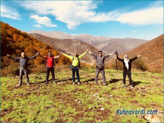 مسیر قله شاه علمدار