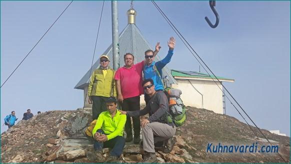 گروه نشاط زندگی - قله عباسعلی