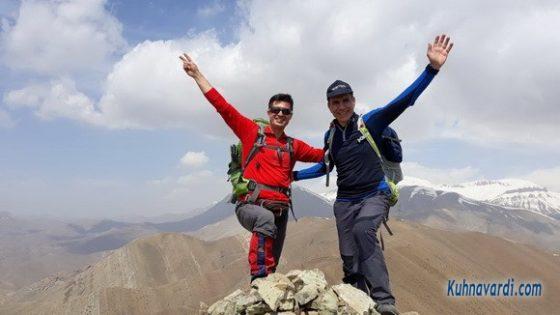 قله لت مال (هریاس) ، رضا حبیبی - نیما اسماعیلی