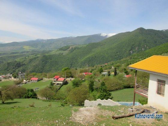 روستای شمام - مسیر قله سرک