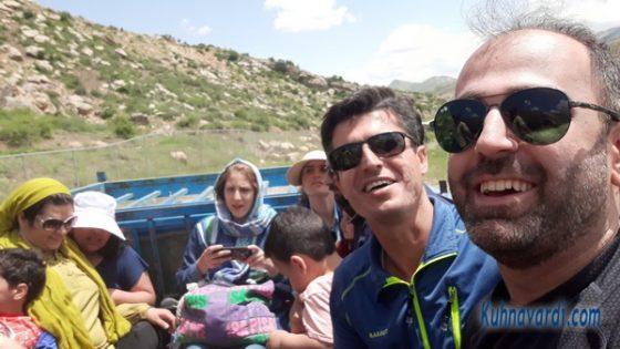 نیسان سواری از پارکینگ تا پای چشمه باداب سورت