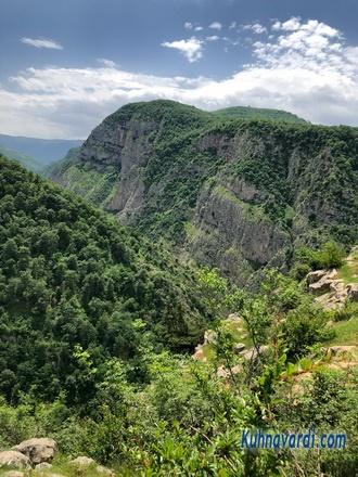 مسیر غار دربند رشی