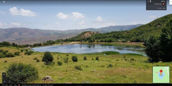 روستای بره سر - دریاچه ویستان Vistan