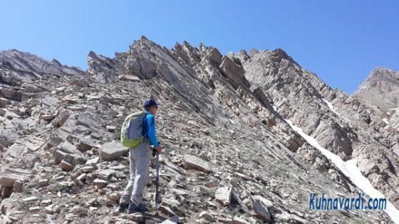 در مسیر مسیر قله هزاربند