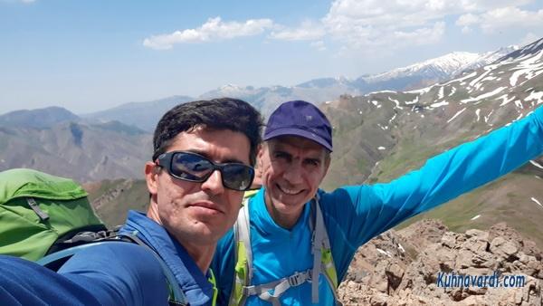 قله هزاربند از حسنکدر - رضا حبیبی - نیما اسماعیلی