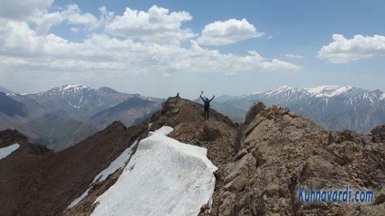 قله هزاربند - گروه نشاط زندگی