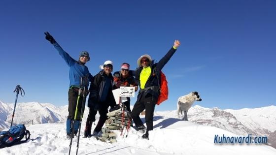 قله کلوگان (اورجین) از روستای کلوگان - گروه نشاط زندگی