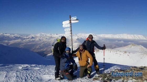 قله شاه نشین - گروه نشاط زندگی