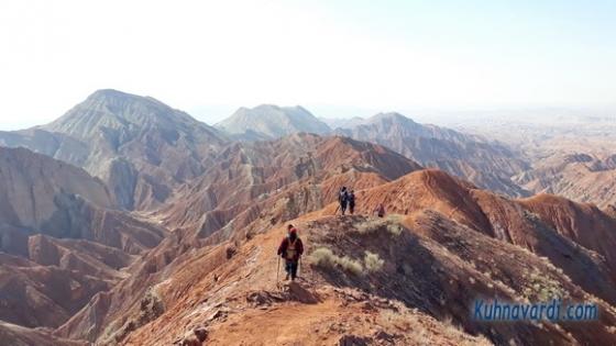 قله طلا ورامین - نشاط زندگی