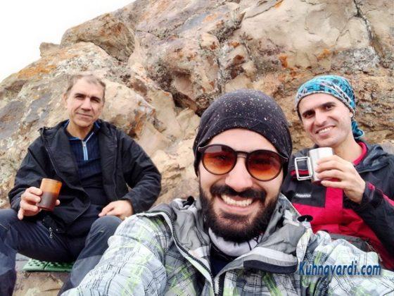 از راست: نیما اسماعیلی. ایمان حسینی. رضا حبیبی