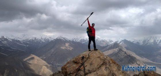 قله سیاه سر. نیما اسماعیلی