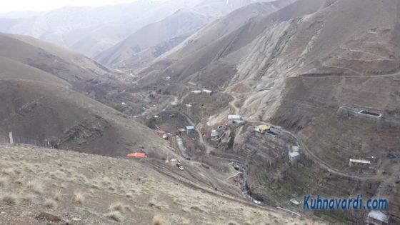 در مسیر روستای کشار بالا