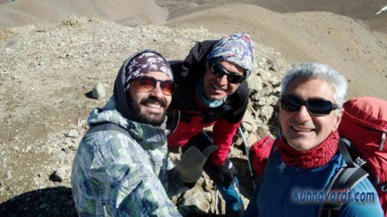 از راست: مسعود کرینخانی، نیما اسماعیلی، ایمان حسینی