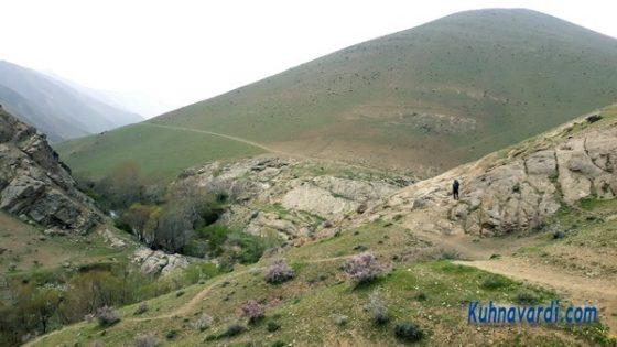 مسیر فرود - دره هریاس