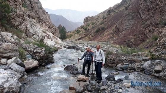 مسیر آبشار سپهسالار