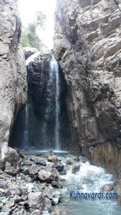 قله کرچان از سپهسالار - آبشار سپهسالار